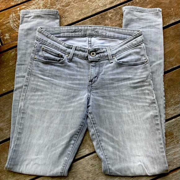 LEVI'S demi curve Skinny leg Jeans